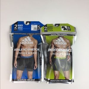 adidas 2 packs of Two Boxers Climalite & Wicking